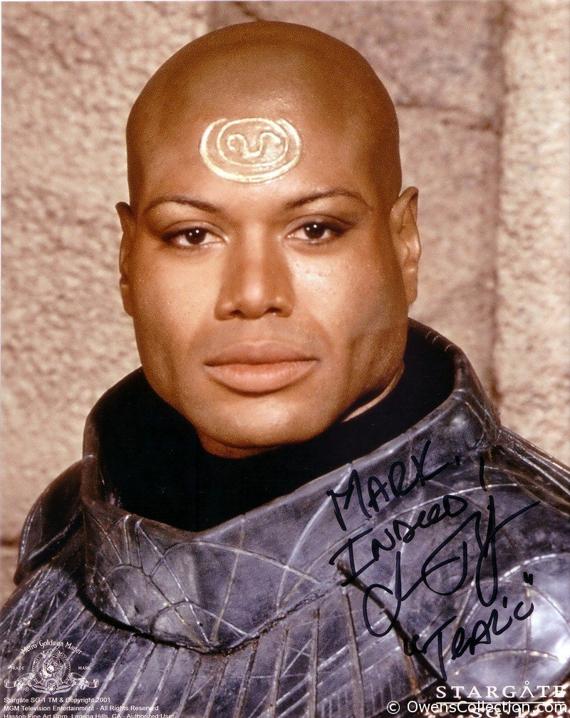 Christopher Judge Autograph