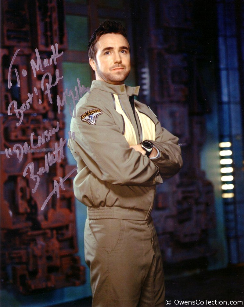 Paul McGillion Autograph
