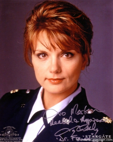 Teryl Rothery Autograph