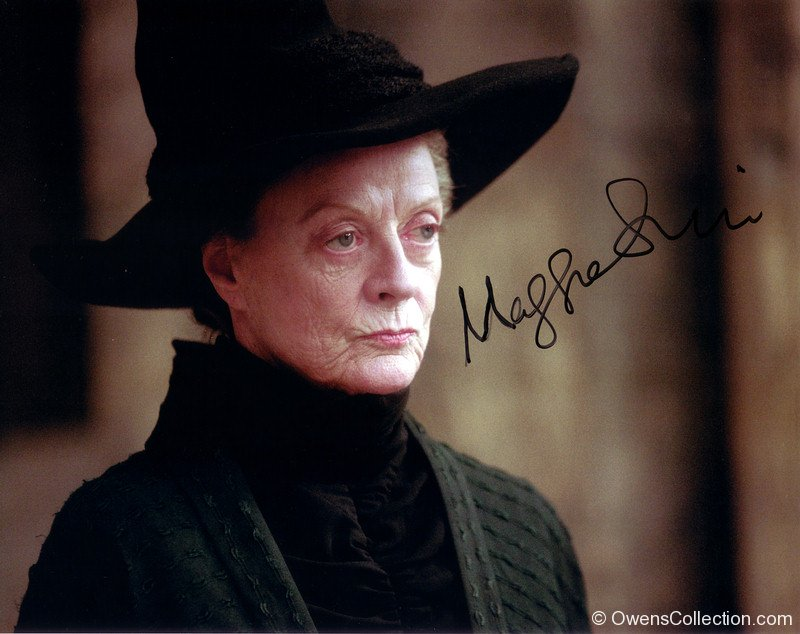 Maggie Smith Autograph